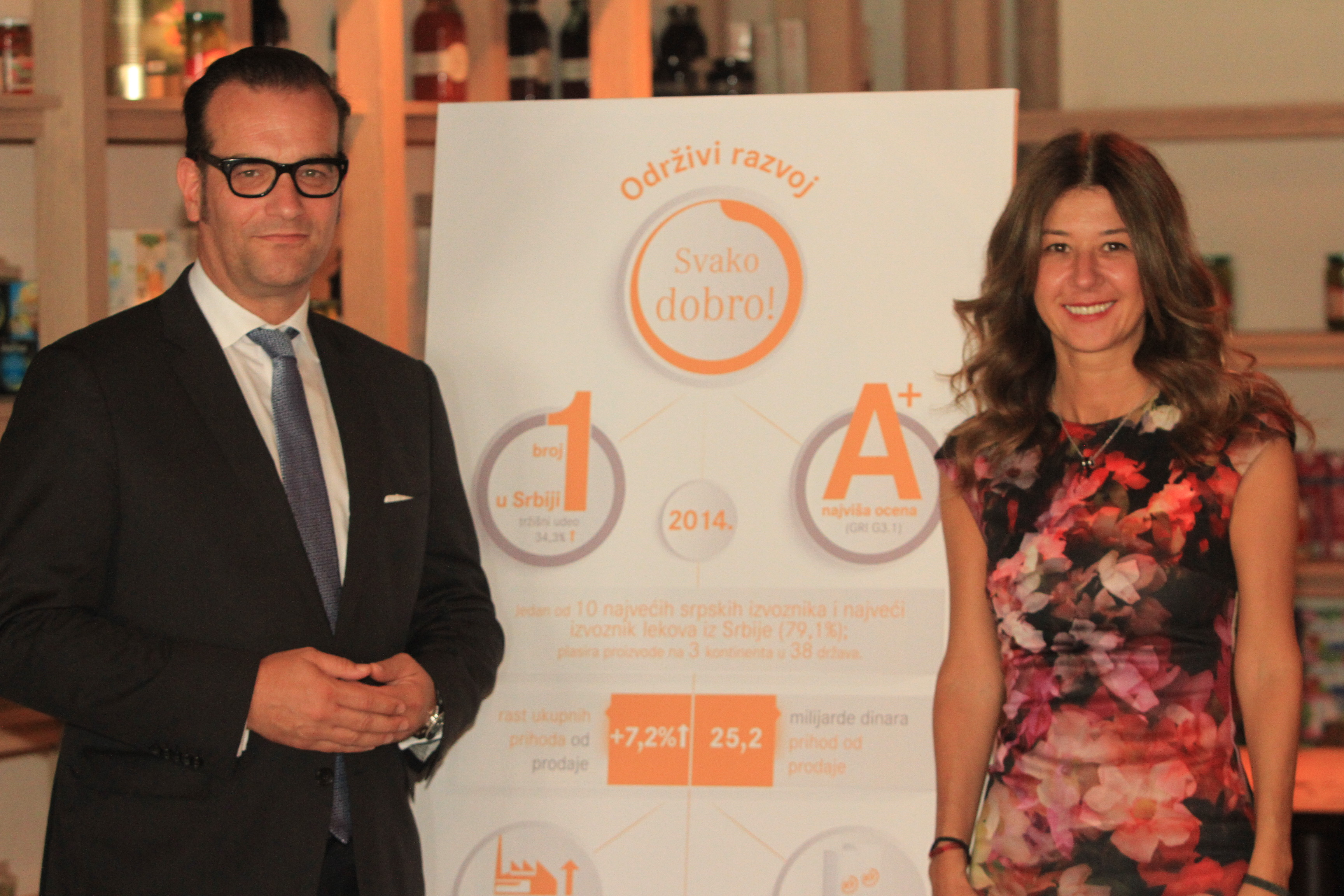 Hemofarm also Officially Becomes a Company with the Highest Rating in the Area of Sustainable Development in Serbia