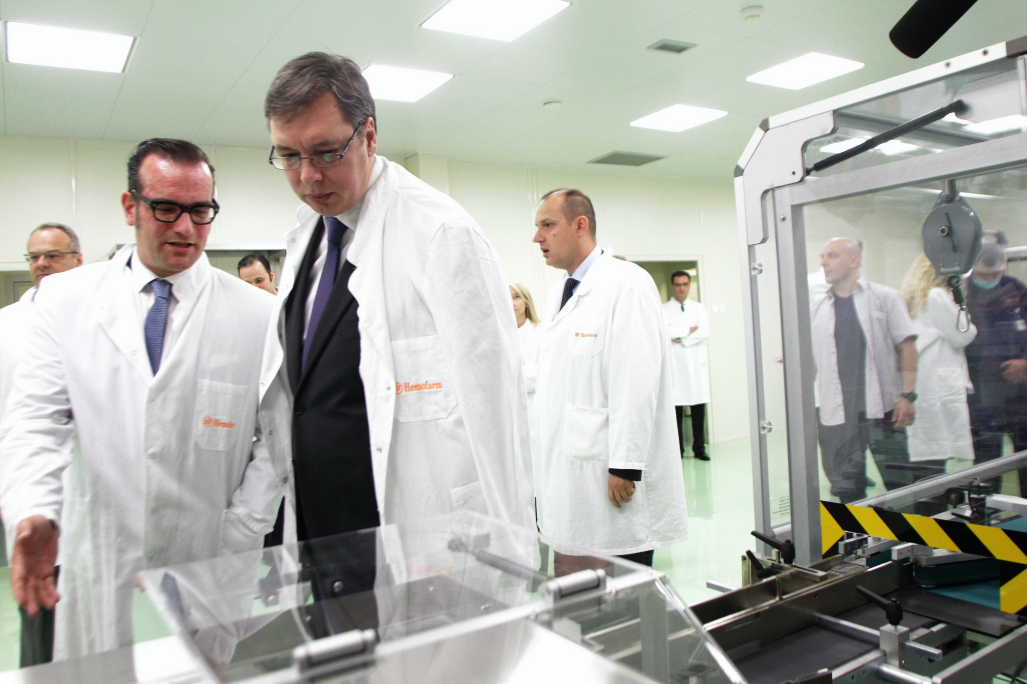 Hemofarm Opened New Ampoule Production Plant