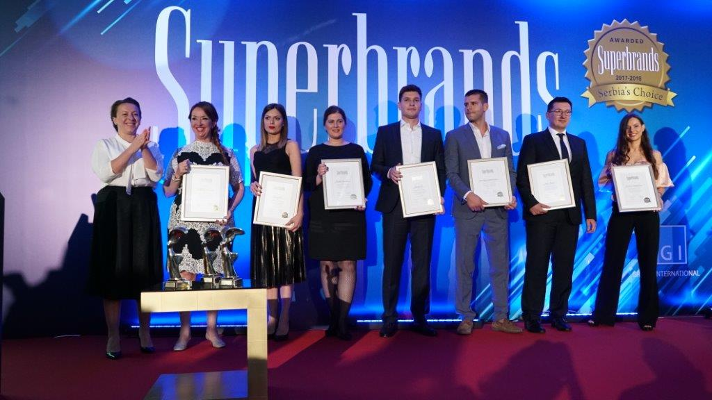 Superbrands Award for Hemofarm's Probiotic