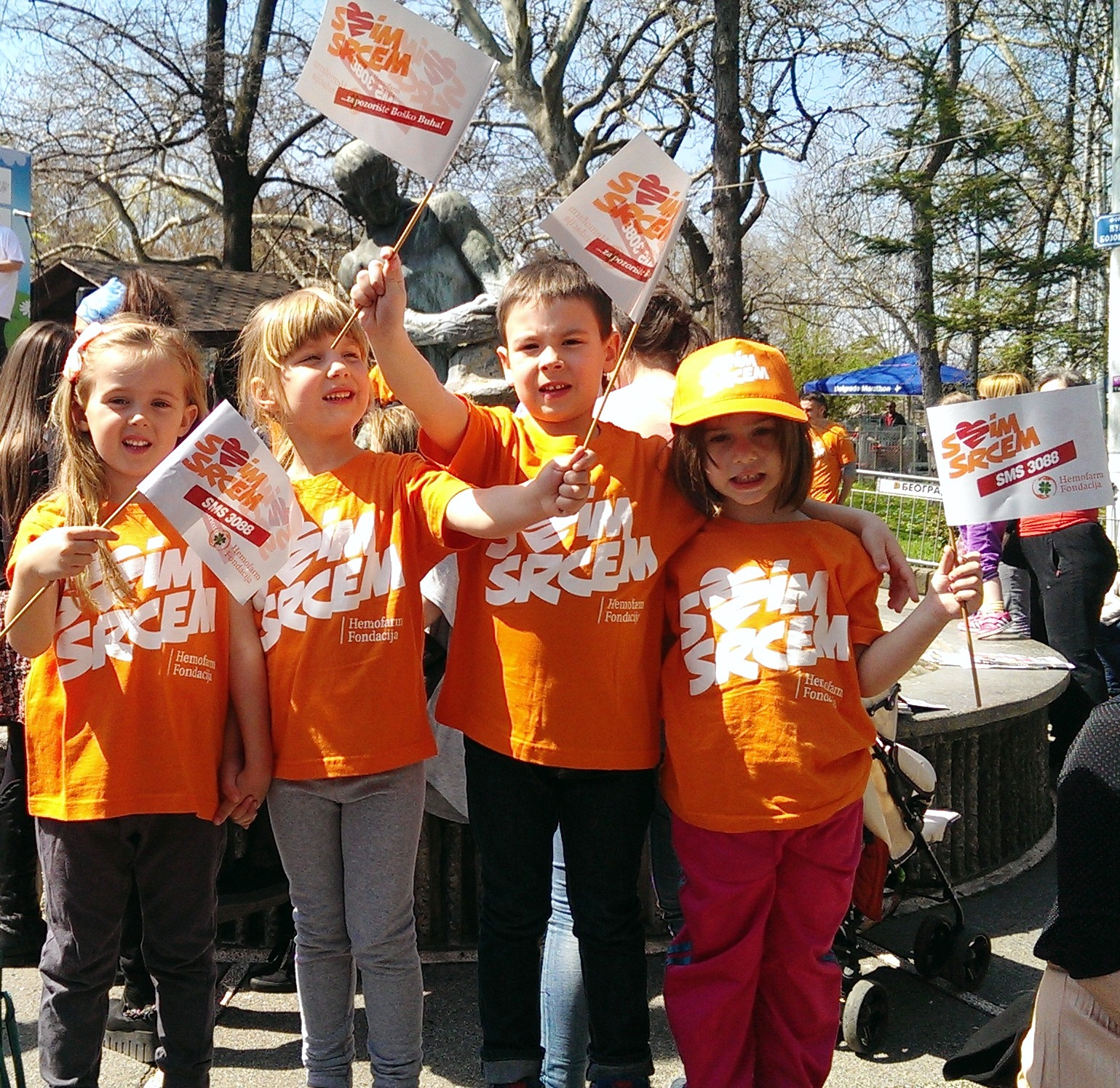 Hemofarm Foundation at the Children's Marathon