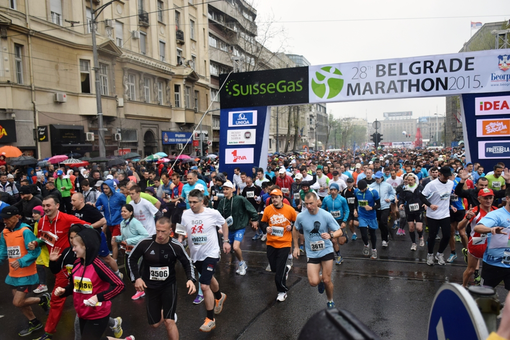 Great Success of Hemofarm's Competitors in the 28th SuisseGas Belgrade Marathon