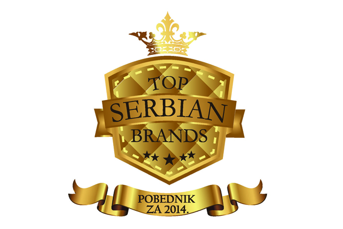 Hemofarm Received Recognition 'TOP SERBIAN BRANDS'