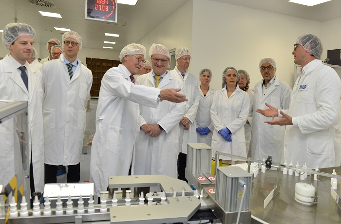 Delegation of the German Eastern Business Association Visits Hemomont